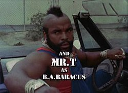 ba baracus how tall
