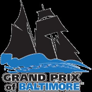 Grand Prix of Baltimore - Image: Baltimore Grand Prix logo (Race On)