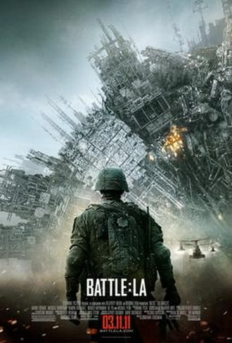 Battle: Los Angeles - Theatrical release poster