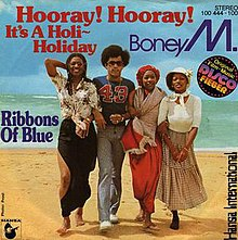 Boney M. — Hooray! Hooray! It's a Holi-Holiday (studio acapella)