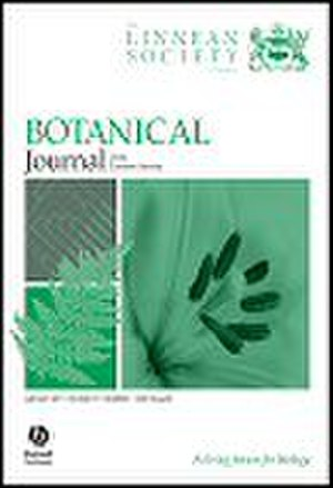 Botanical Journal of the Linnean Society - Image: Botanical journal of the Linnean Society cover