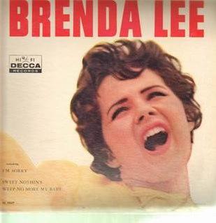 <i>Brenda Lee</i> (album) 1960 studio album by Brenda Lee