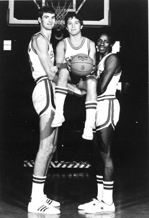 NC State Wolfpack men's basketball - Tom Burleson, Monte Towe, and David Thompson were key members of NC State's 1974 national championship team.