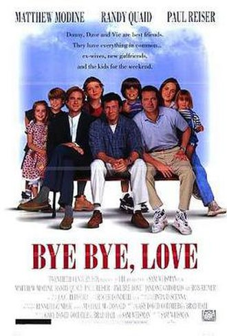 Bye Bye Love (film) - Theatrical release poster