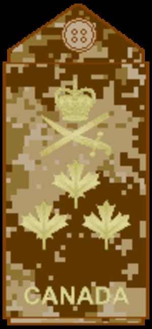 Lieutenant-general (Canada) - Image: CADPAT arid L Gen