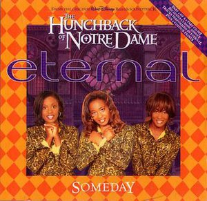 Someday (Disney song) - Image: CD Single Cover for Eternal Someday CD1