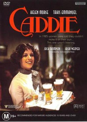 Caddie (film) - DVD cover.