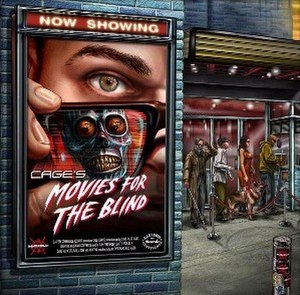 Movies for the Blind - Image: Cage movies for the blind