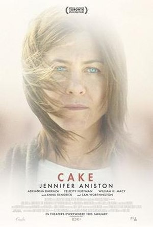 Cake (2014 film) - Theatrical release poster