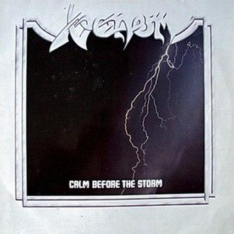 Calm Before the Storm (Venom album) - Image: Calmbeforethestormor iginal