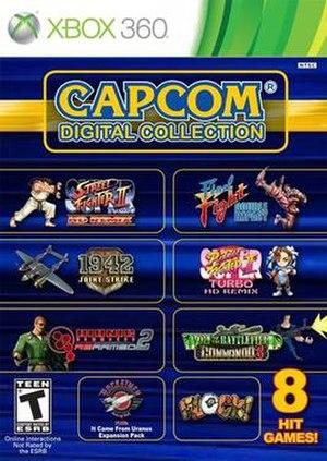 Capcom Digital Collection - Image: Capcom digital collection cover