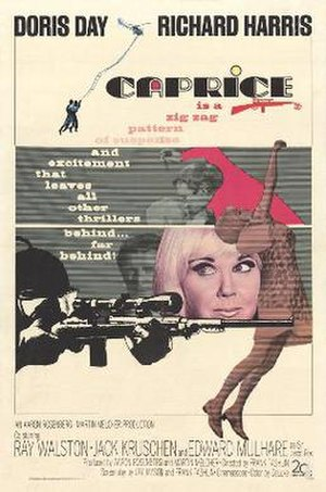 Caprice (1967 film) - original film poster