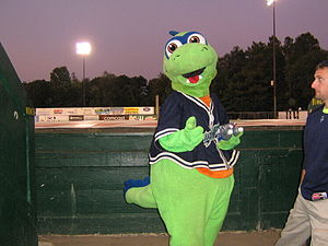 Vermont Lake Monsters - The Lake Monsters' mascot, Champ