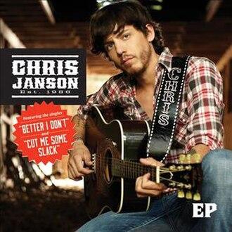 Chris Janson (EP) - Image: Chris Janson EP