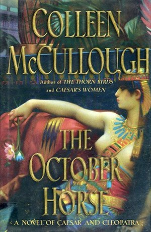 The October Horse - First UK edition cover