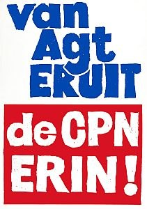 Communist Party of the Netherlands (1977 electoral poster)