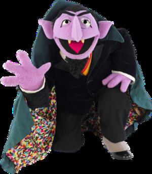Count von Count - Image: Count von Count kneeling