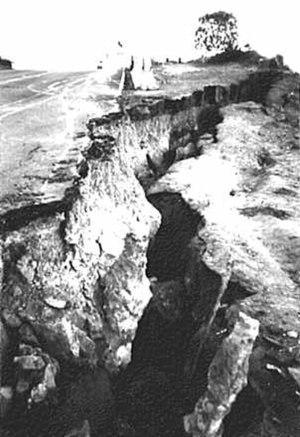 Devil's Slide (California) - Devil's Slide in 1995