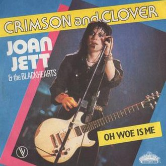 Crimson and Clover - Image: Crimson and Clover Joan Jett and the Blackhearts