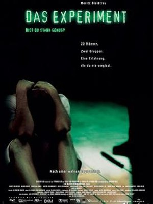 Das Experiment - Theatrical release poster