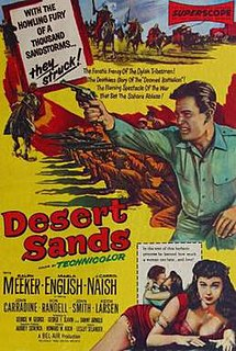 <i>Desert Sands</i> 1955 film by Lesley Selander
