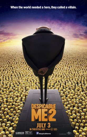 Despicable Me 2 - Theatrical release poster