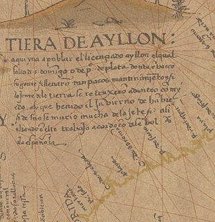 Lucas Vázquez de Ayllón Spanish explorer