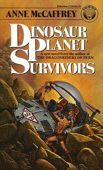 Dinosaur Planet Survivors - Sweet cover of early US editions