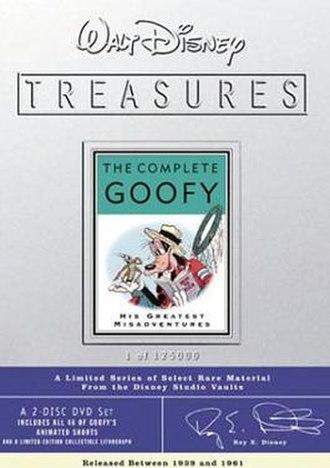 Walt Disney Treasures: Wave Two - Image: Disney Treasures 02 goofy