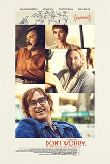 <i>Dont Worry, He Wont Get Far on Foot</i> 2018 film by Gus Van Sant
