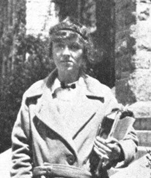 Dorothy Burr Thompson - Dorothy Burr Thompson in 1923