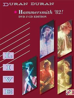 Live at Hammersmith '82! - Image: Duranduranliveathamm ersmith 82