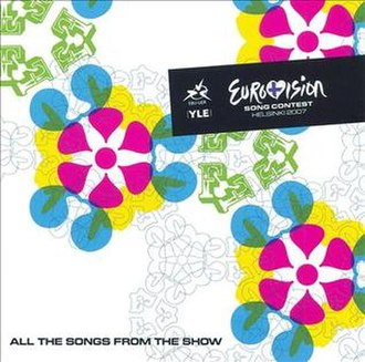 Eurovision Song Contest 2007 - Image: ESC 2007 album cover
