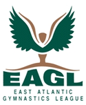 East Atlantic Gymnastics League logo
