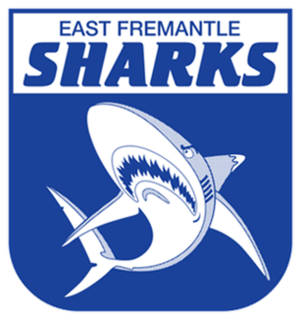 East Fremantle Football Club - Image: East fremantle sharks logo