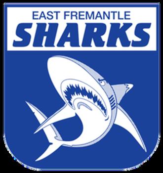 East Fremantle Football Club - Image: East fremantle sharks logo
