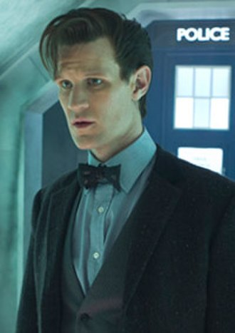 "Eleventh Doctor - The Eleventh Doctor's second costume, first appearing in ""The Bells of Saint John"" (2013)."
