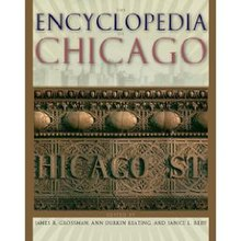 book cover bearing the title The Encyclopedia of Chicago