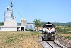 Everett Railroad 1712, Martinsburg, PA, May 2012.jpg