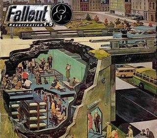 <i>Fallout 1.5: Resurrection</i> Fallout 2 total conversion mod