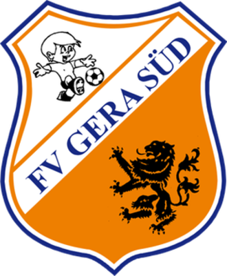 BSG Wismut Gera - Logo of predecessor FV Gera Süd