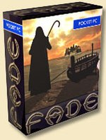 Virtual box art for Fade. Like many games for mobile platforms, it was not released as a boxed set in stores.