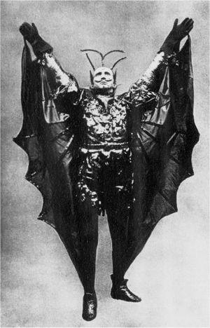 Jerrold Robertshaw as the Demon Alcohol
