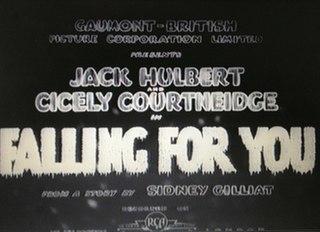 <i>Falling for You</i> (film) 1933 film
