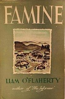 <i>Famine</i> (OFlaherty novel) 1937 Liam OFlaherty novel