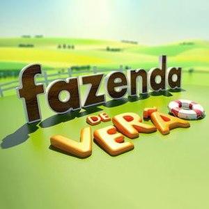 A Fazenda - Fazenda de Verão title card.