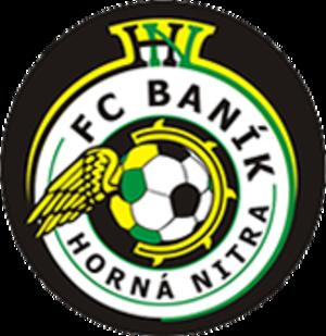 FC Baník Horná Nitra - Logo