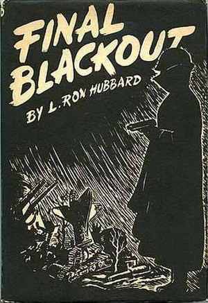 Final Blackout - Dust-jacket from the first edition
