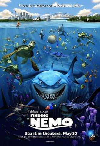 Finding Nemo - Theatrical release poster