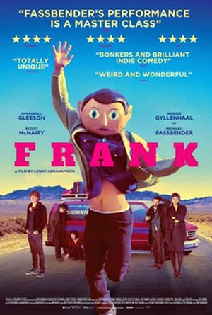 Frank (film) - Theatrical release poster